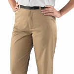 WOMENS PLEATED TROUSER W/HEM