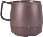Mug, Insulated Brown 8oz