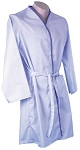 Bathrobe, Lt Blue Solid