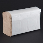 Choice Natural Brown Kraft M-Fold (Multifold) Towel 4000 / Case