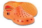 EVA Footwear, Orange