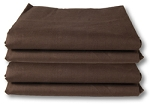Fitted Brown Sheets, Thread Count 130