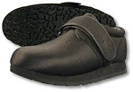 Pedors Diabetic Classic Shoe, Black Regular