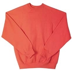 Sweatshirt, Orange 50/50