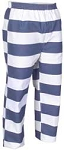 Trouser, Blue & White Stripe,
