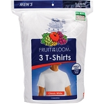 Fruit of the Loom® White Crew Neck T-Shirt