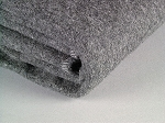 Blanket, 70% Wool Gray 66x90