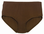 Panty, 100% Cotton Brown