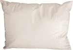 Pillow, Poly, Vented, White
