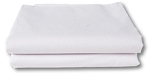 Fitted White Sheets, Thread Count 130