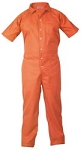Jumpsuit, Orange