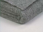 Blanket, Wool Gray